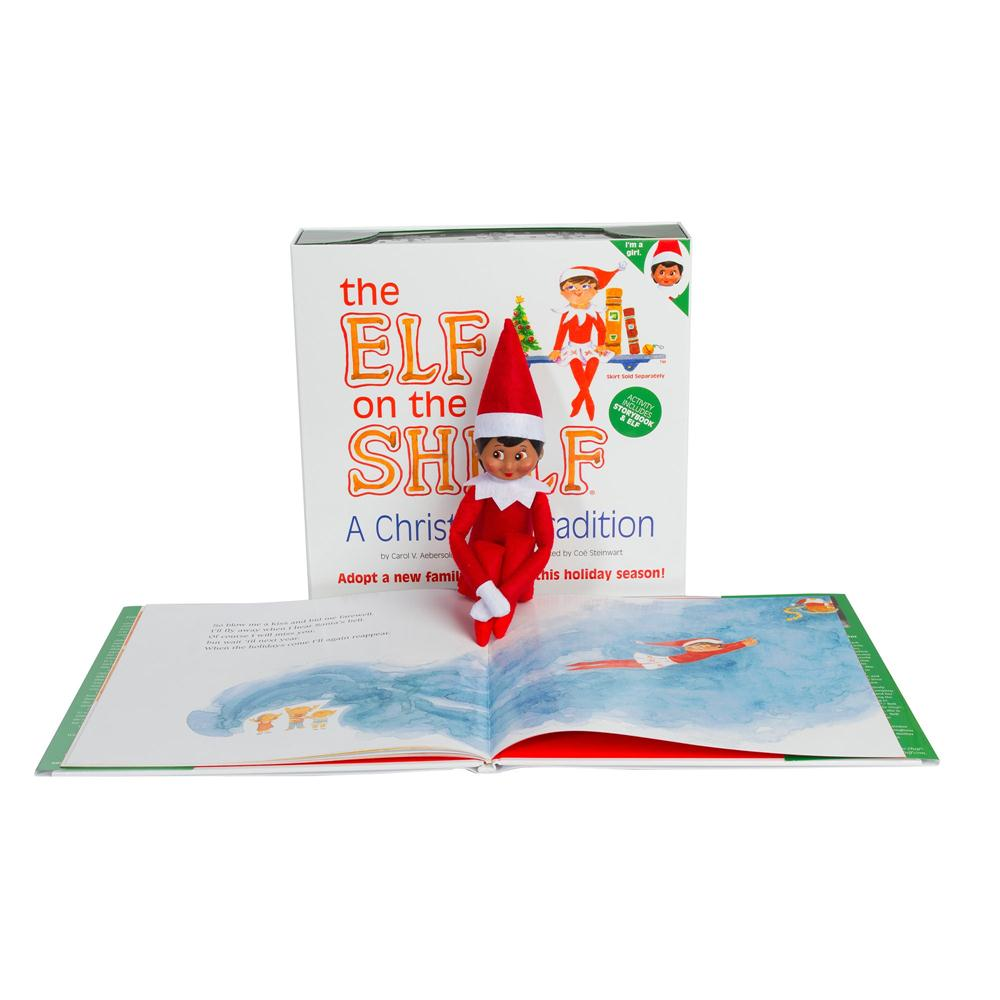 booktopia the elf on the shelf a christmas tradition. Black Bedroom Furniture Sets. Home Design Ideas