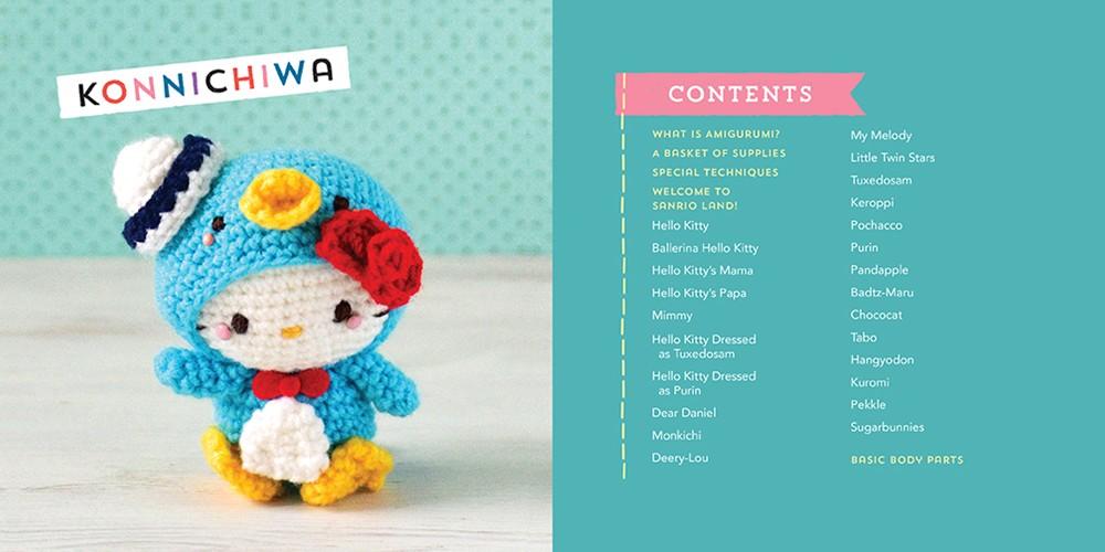 Booktopia - Hello Kitty Crochet, Supercute Amigurumi ...