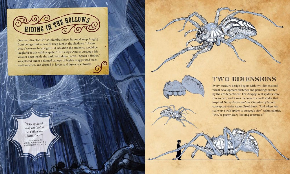 NEW Harry Potter: Aragog Deluxe Book and Model Set By Jody Revenson