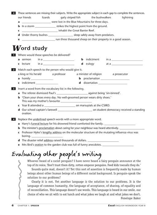 excel english workbook year 8 pdf