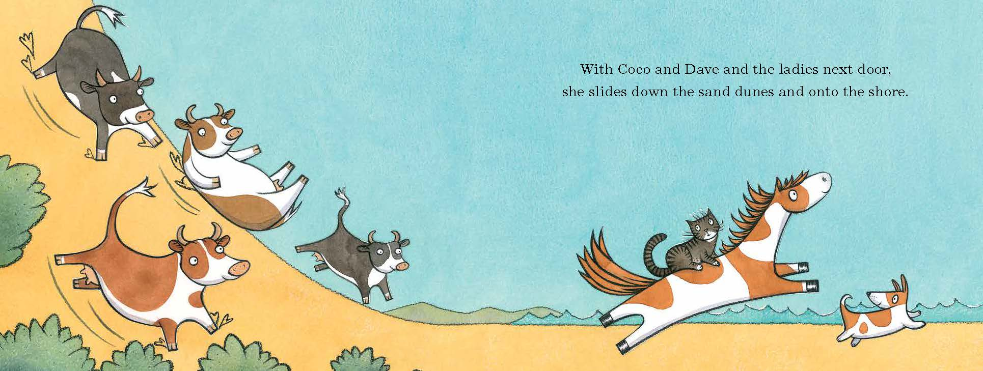 Booktopia Noni The Pony Goes To The Beach By Alison