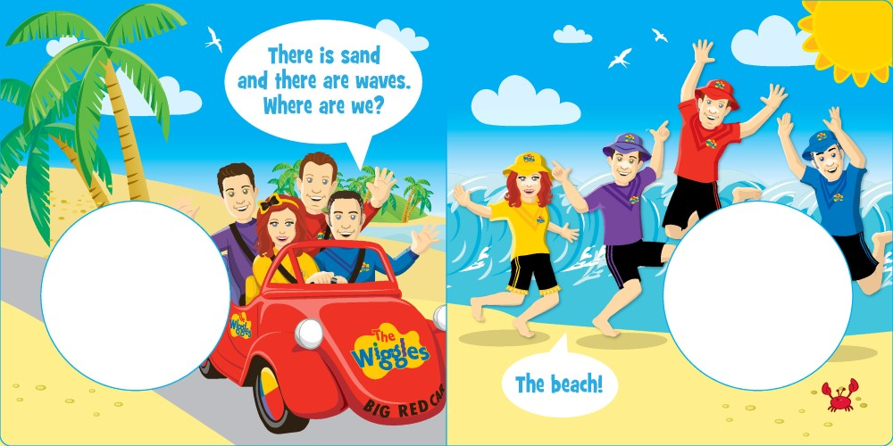 Booktopia - The Wiggles - Big Red Car Road Trip! Sound Book by The ...