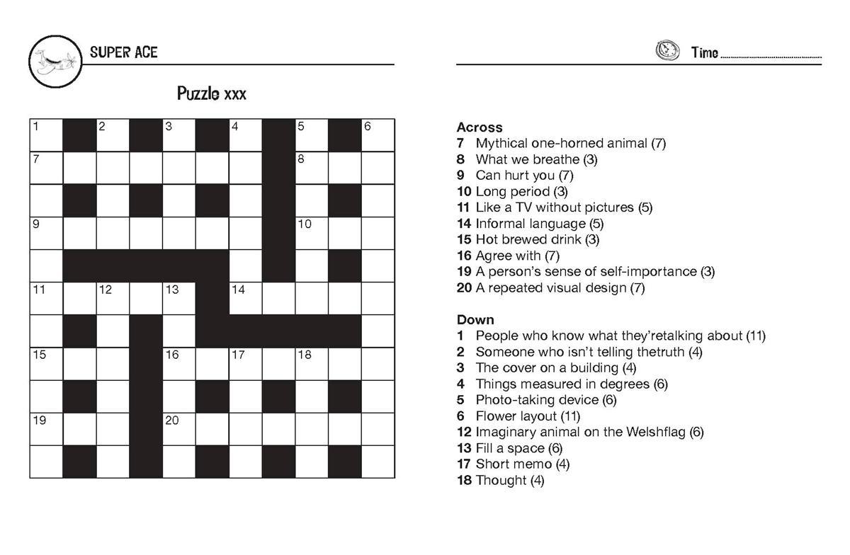 Online Crossword Kid