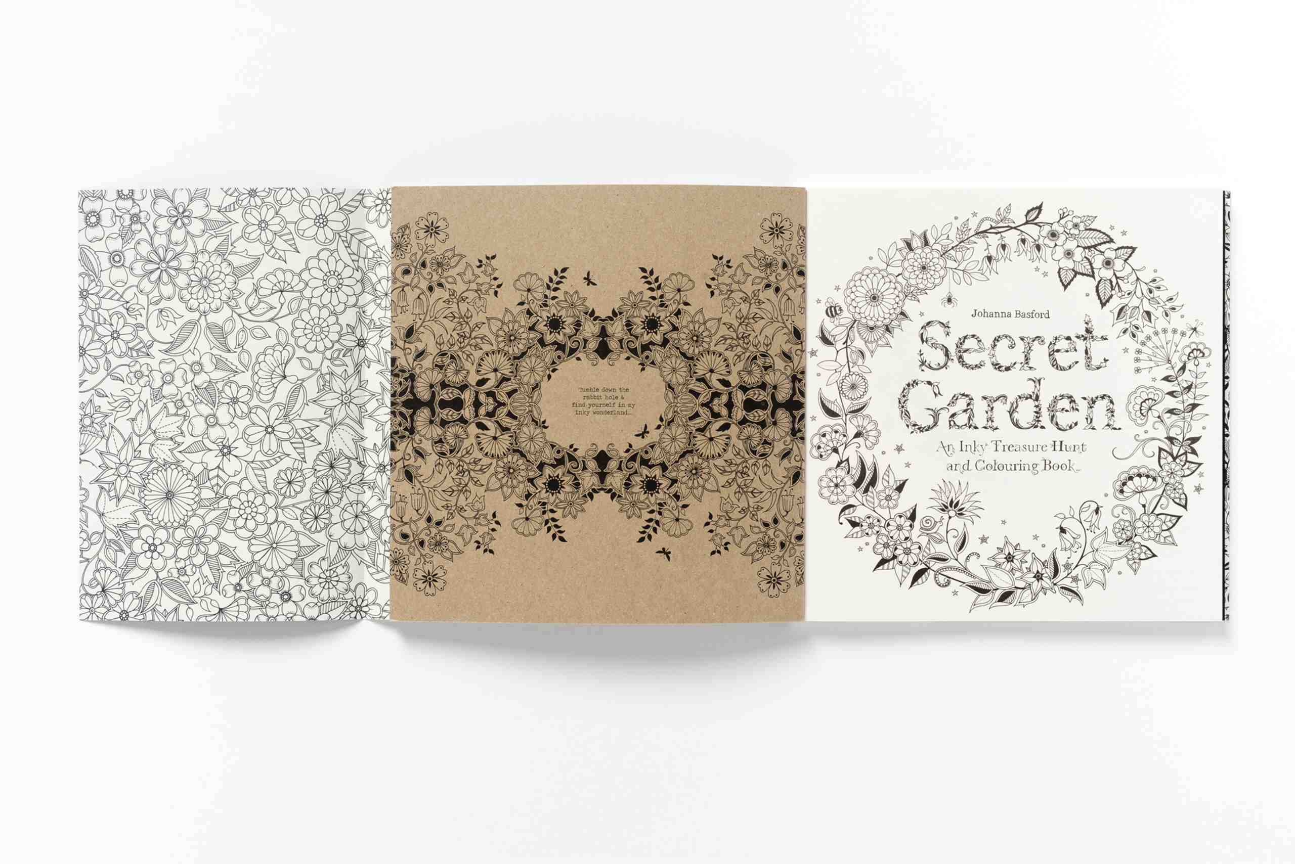 the secret garden colouring book whitcoulls : Colouring In Books For Adults Perth Secret Garden An Inky Treasure Hunt And Colouring Book