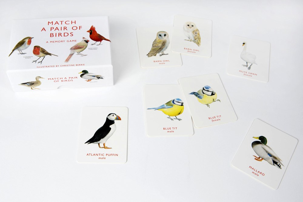Booktopia - Match a Pair of Birds, A Memory Game by
