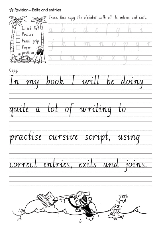 Free handwriting worksheets for 1st graders
