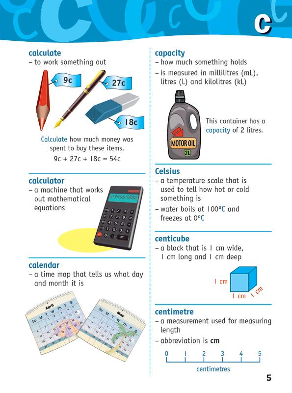 Math dictionary homework help for families