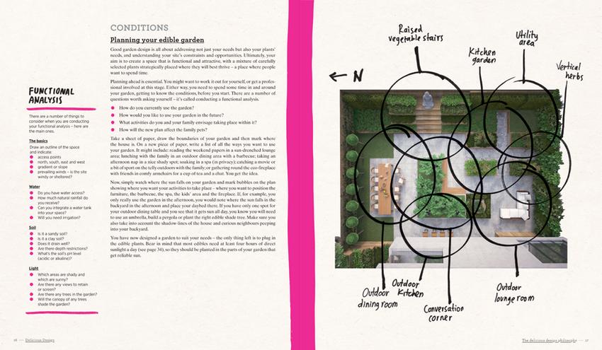 Booktopia Edible Garden Design Delicious Designs From