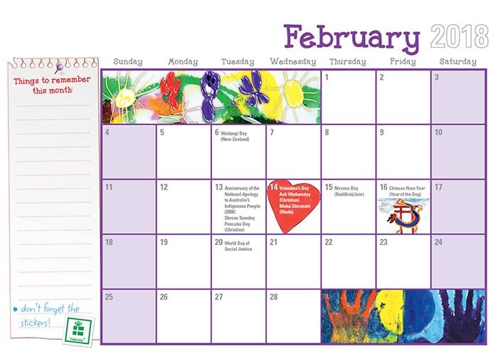 Booktopia - Awesome Kids Family Calendar 2018, 2018 calendar with ...