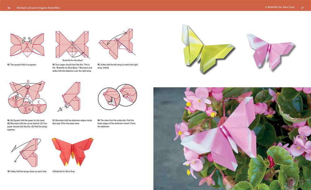 Booktopia - Michael LaFosse's Origami Butterflies, Elegant ... - photo#15