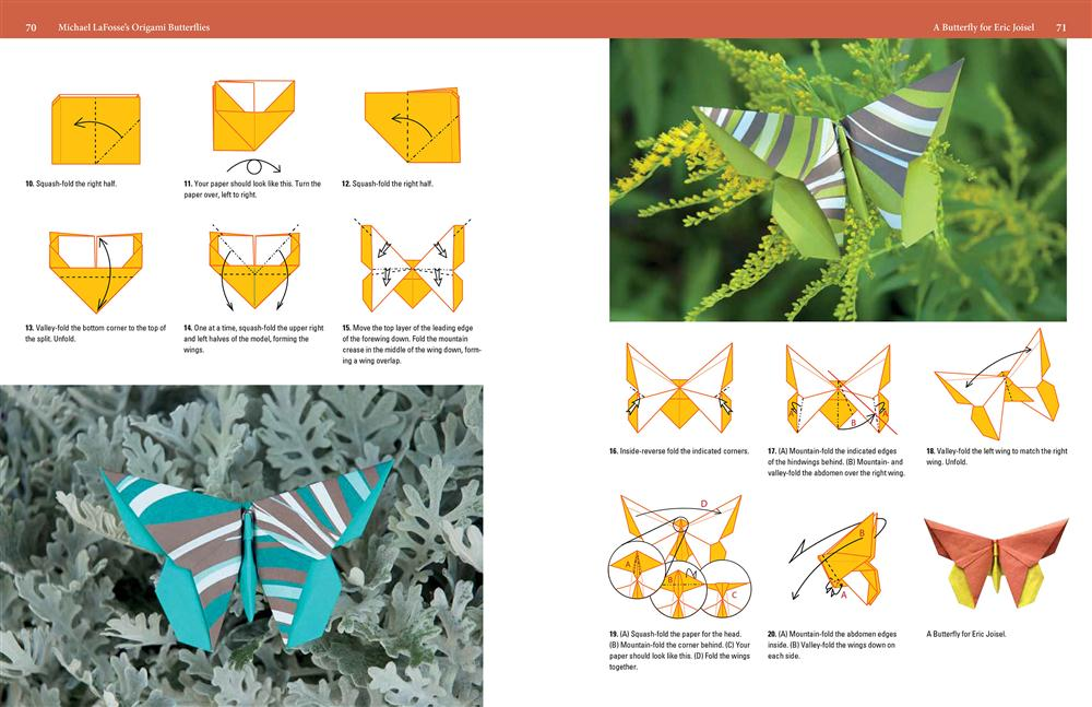 Booktopia - Michael LaFosse's Origami Butterflies, Elegant ... - photo#36