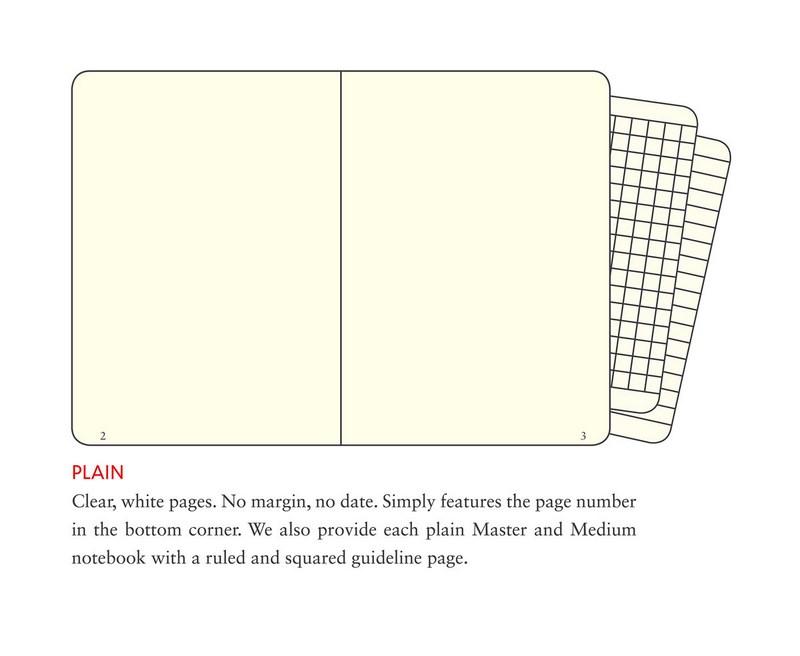 leuchtturm1917 notebook agenda master a4 plain hardcover black
