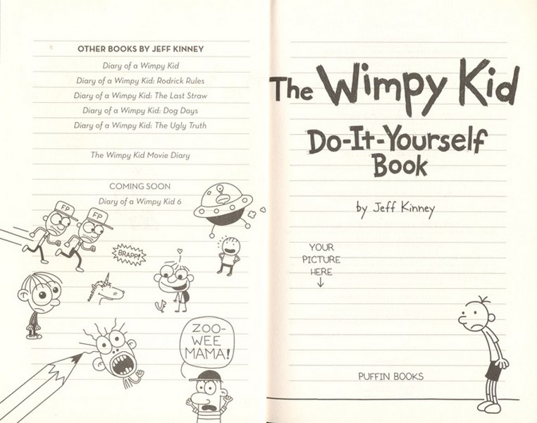 Booktopia the wimpy kid do it yourself book volume 2 by jeff the wimpy kid do it yourself book solutioingenieria