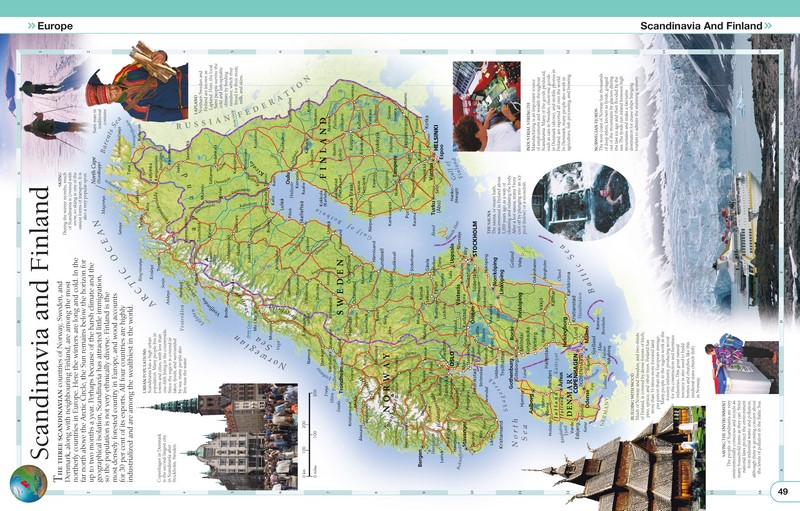 Booktopia childrens illustrated world atlas by dk 9780241296912 take a look inside gumiabroncs Gallery