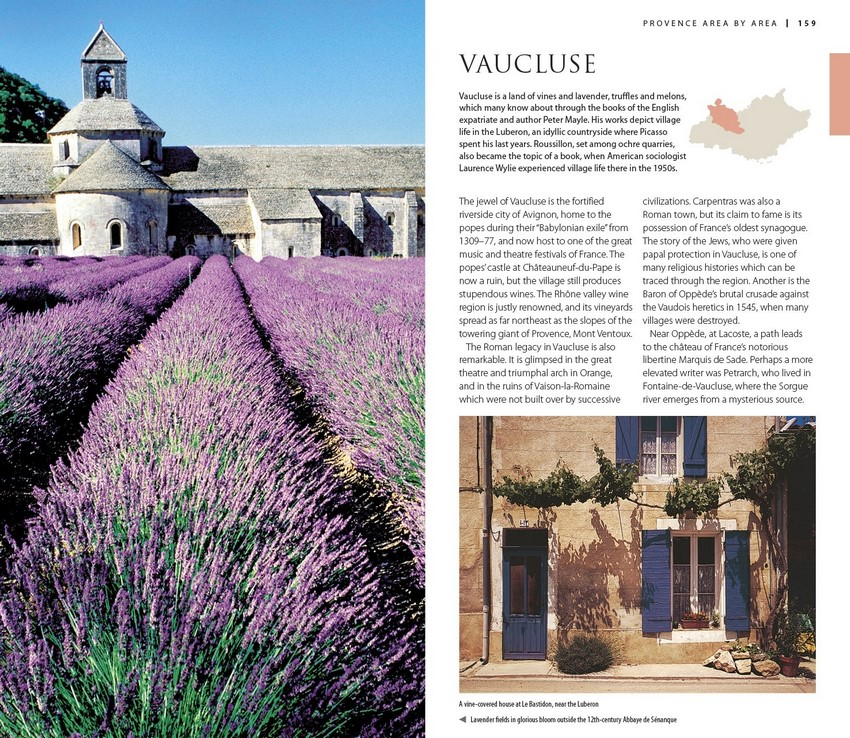 Provence & the Cote d'Azur, DK Eyewitness Travel Guide by DK