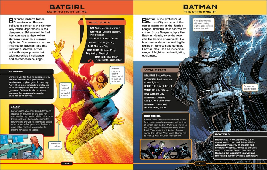 DC Comics Ultimate Character Guide, New Edition by DK