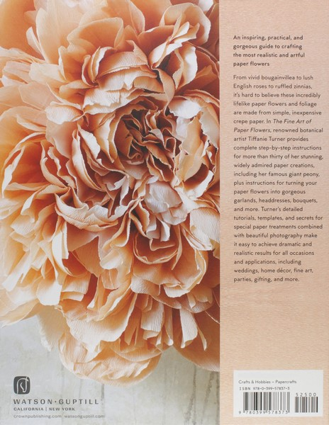 Booktopia the fine art of paper flowers a guide to making the fine art of paper flowers mightylinksfo Choice Image