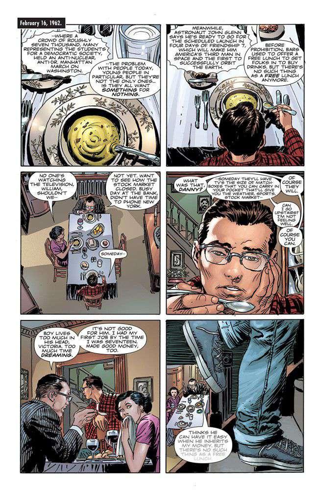 Before Watchmen Nite Owl Dr Manhattan By Adam Hughes