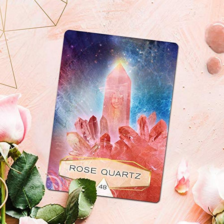 Crystal Spirits Oracle, 58-Card Deck and Guidebook by