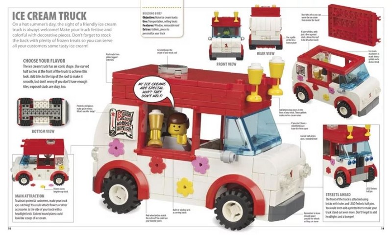 Booktopia the lego ideas book you can build anytime by for Design your own food truck online