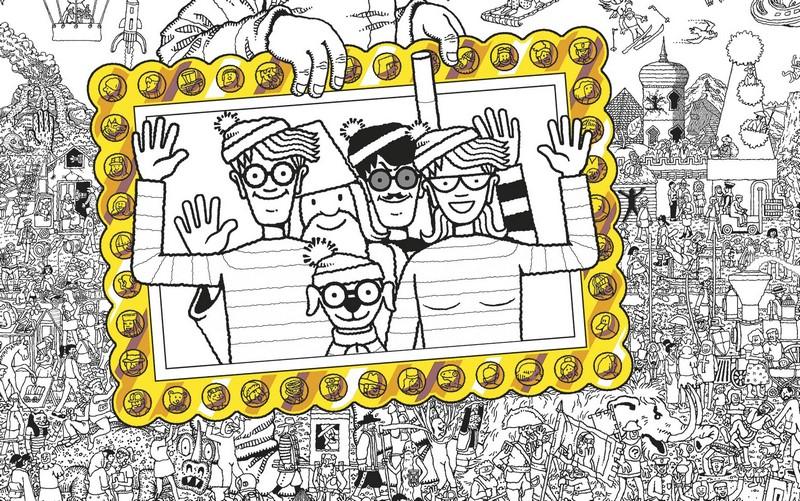 Booktopia - Where's Wally? The Colouring Book, The ...