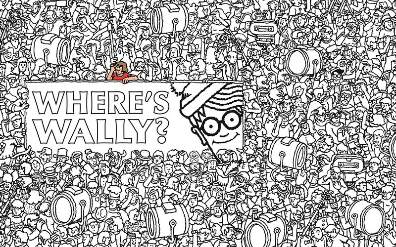 wally coloring pages | Where's Wally? The Colouring Collection, Where's Wally? by ...