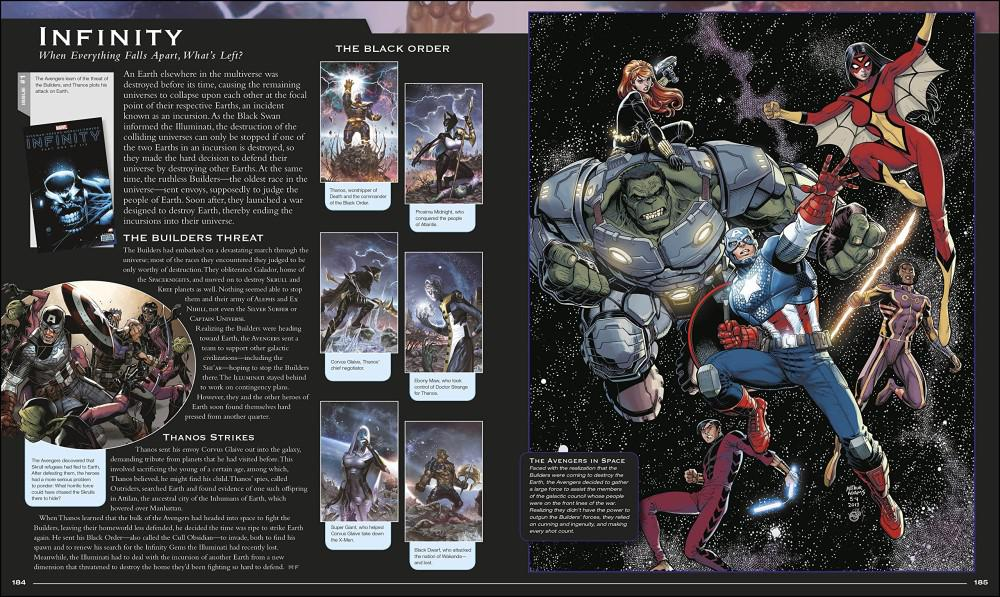 Marvel Encyclopedia, Updated and Expanded by Dorling