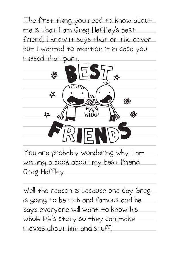 Diary Of An Awesome Friendly Kid Rowley Jefferson S Journal By Jeff Kinney 9781419740275 Booktopia