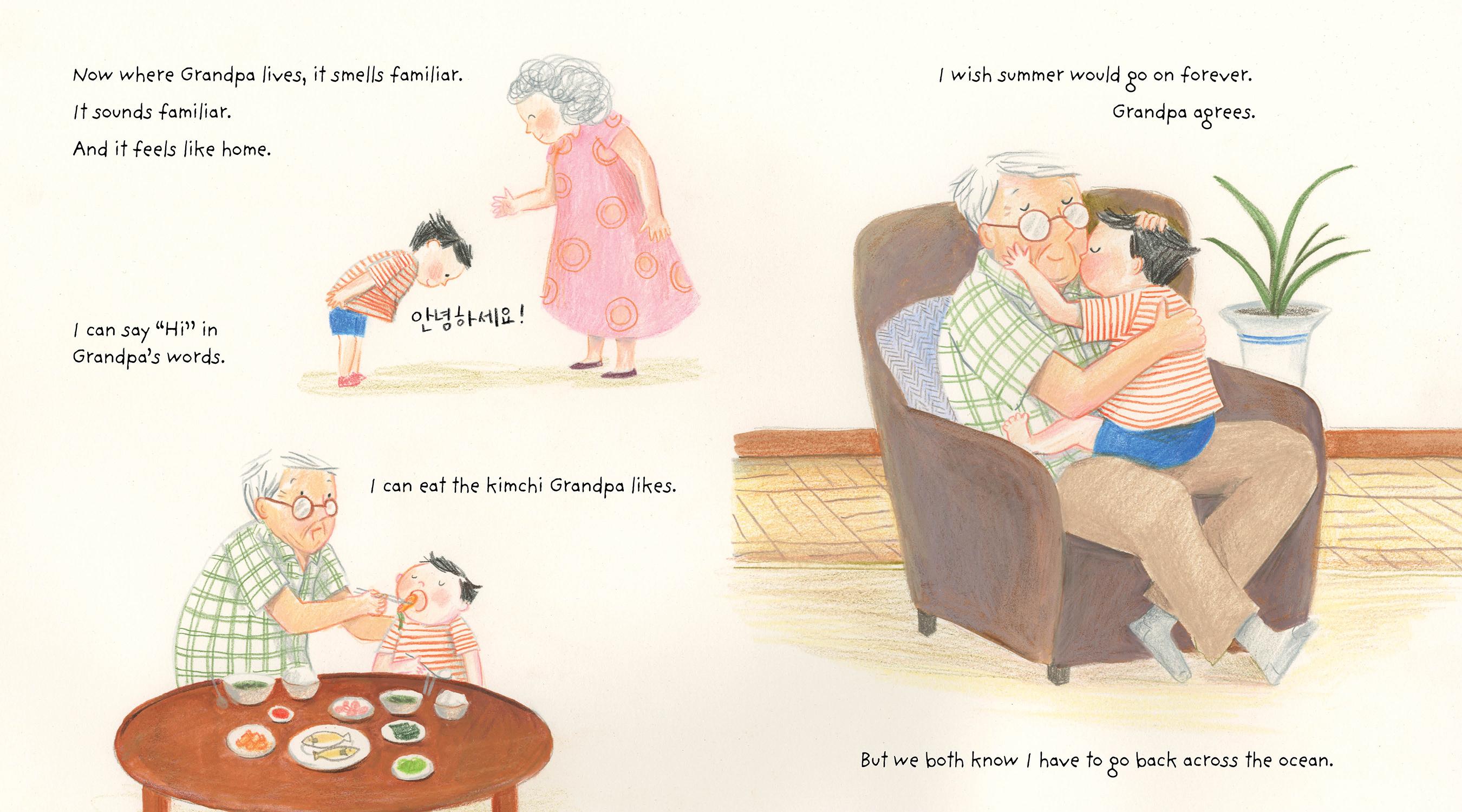 Grandpa Across the Ocean by Hyewon Yum | 9781419742255 | Booktopia