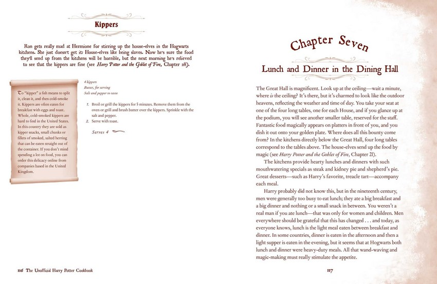 The Unofficial Harry Potter Recipe Book