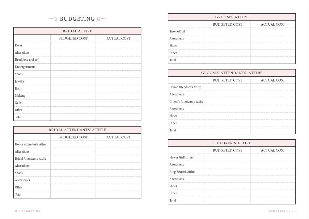 Wedding Gift List Checklist: Wedding Planner Checklist, A Portable Guide To Organizing