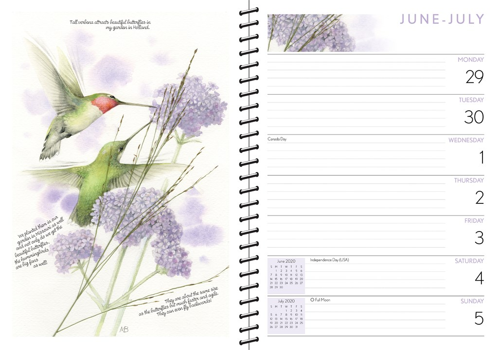 Uitgelezene Marjolein Bastin 2020 Monthly/Weekly Diary by Marjolein Bastin ZS-54