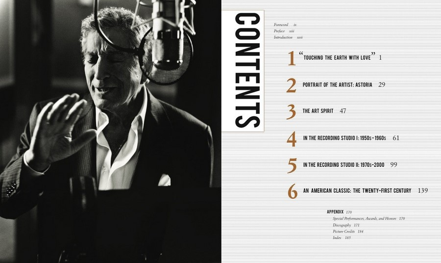 Tony Bennett Onstage and in the Studio by Tony Bennett