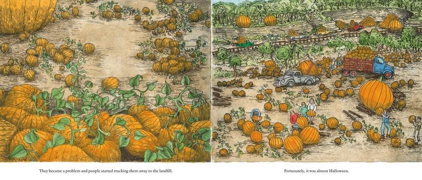 Image result for pumpkin island by arthur geisert