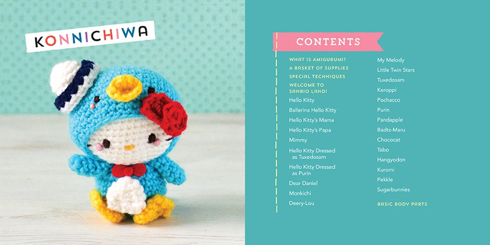 Hello Kitty Crochet Supercute Amigurumi Patterns For Sanrio Friends