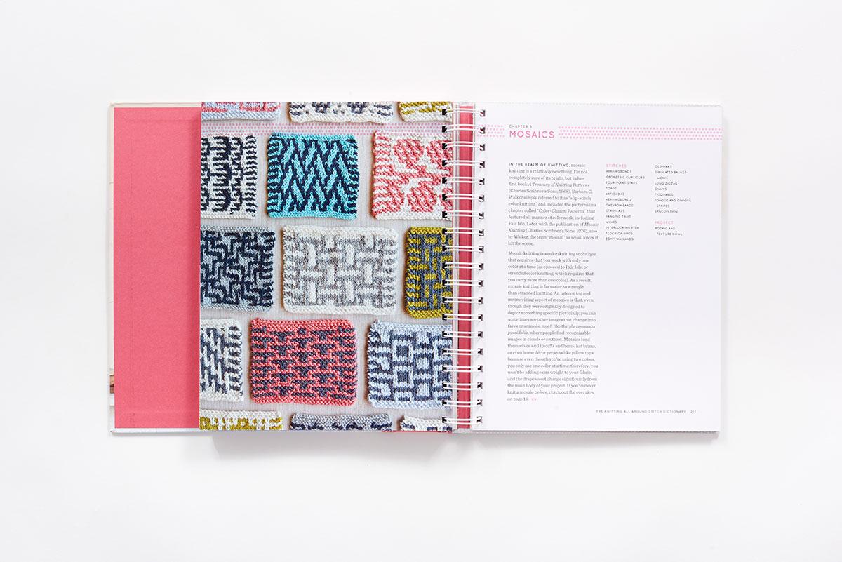4886b6931ddd The Knitting All Around Stitch Dictionary