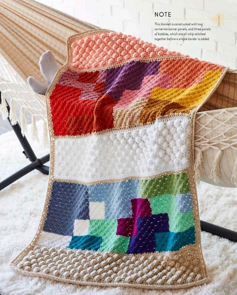 Art Of Crochet Blankets 18 Projects Inspired By Modern Makers By