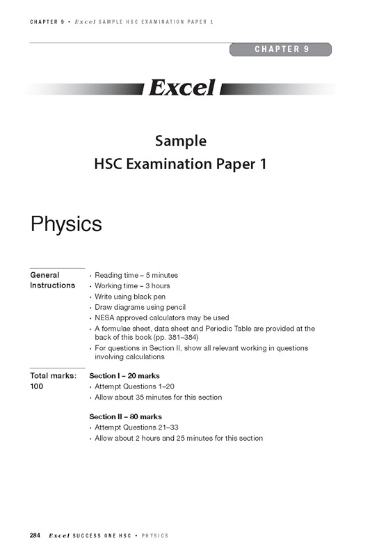 Excel Success One HSC Physics by 2019 Edit | 9781741256970