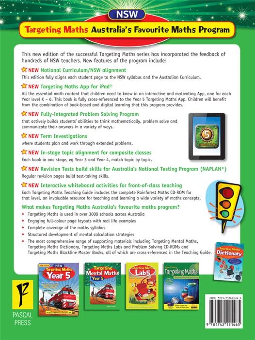 Nsw Targeting Maths Teaching Guide Year 5 Australian