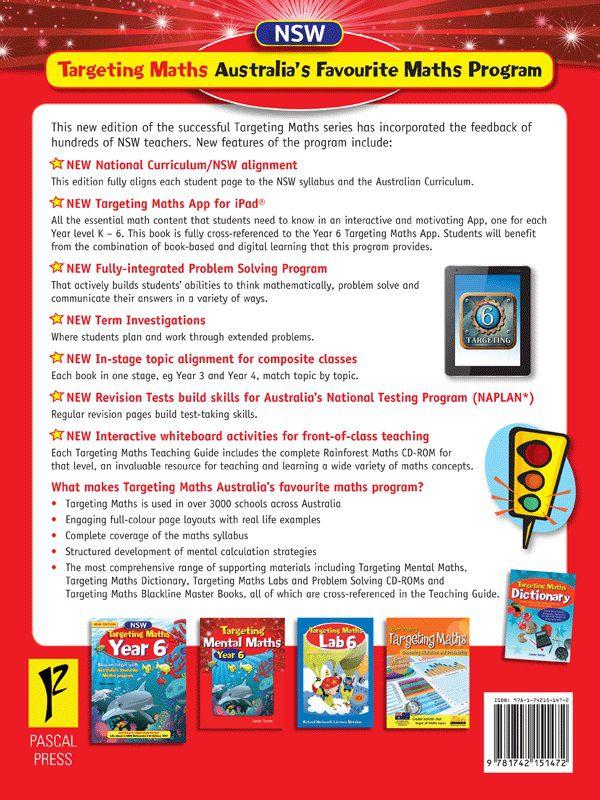booktopia nsw targeting maths teaching guide year 6 australian rh booktopia com au Targeting Maths Game Targeting Maths Lab 1
