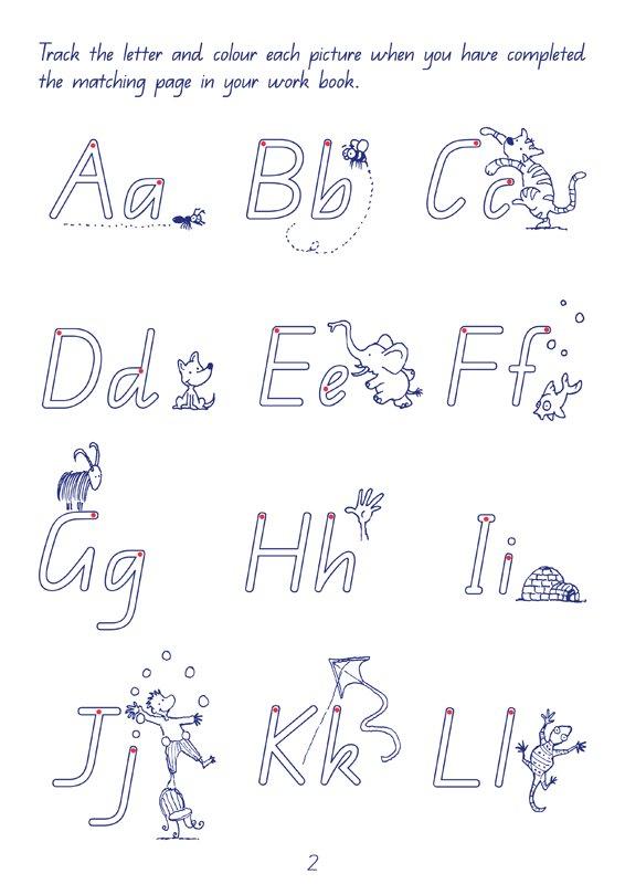 6 year old handwriting