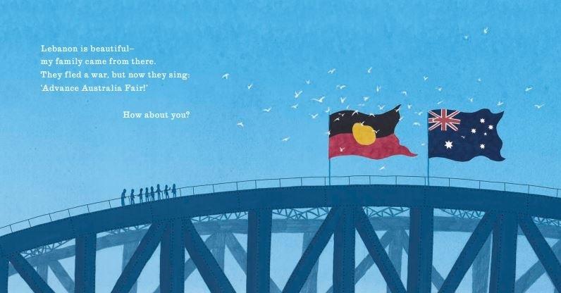 I M Australian Too Poster I M Australian By Mem Fox 9781742995786 Booktopia