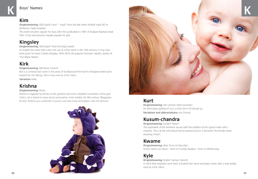 The Complete A-Z of Baby Names | 9781743523032 | Booktopia