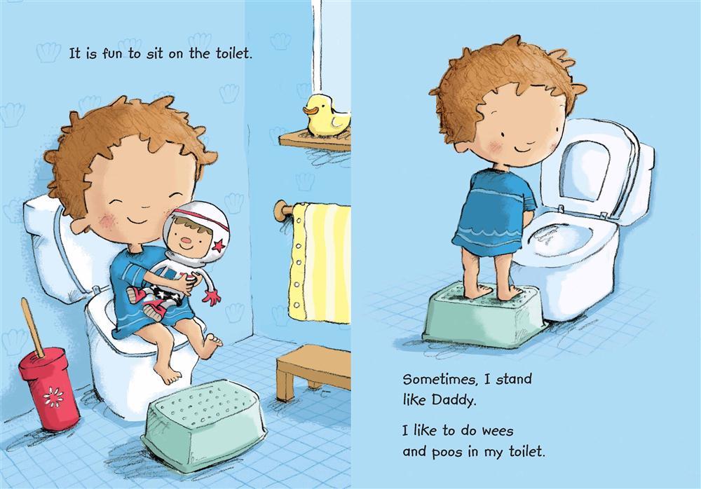 Booktopia Toilet Time For Boys Sound Book