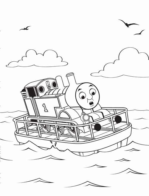 Thomas and friends thomas classic colouring book