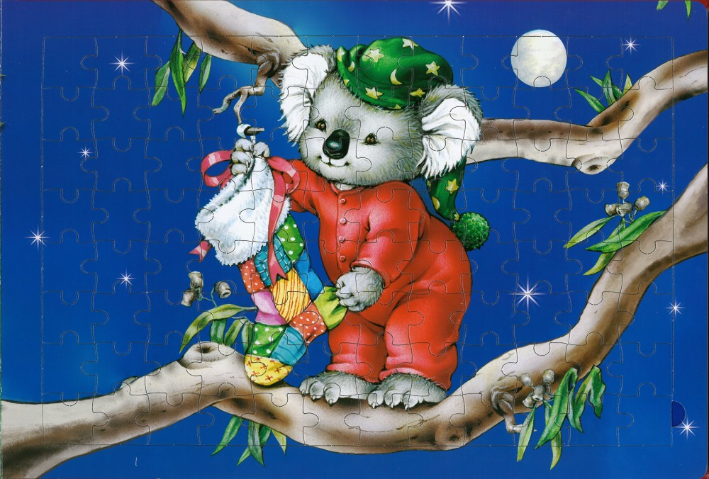 booktopia a very aussie christmas deluxe jigsaw book by australian clip art people australian clip art have a good day mate
