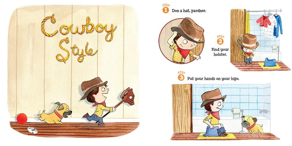 The pee book