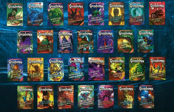 booktopia goosebumps monster collection includes 30 titles by r l