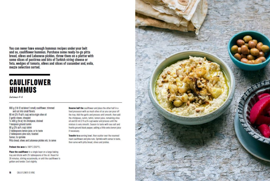 Booktopia - Cauliflower is King, 70 recipes to prove it by Leanne ...