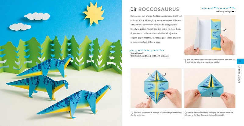 Booktopia How To Make Paper Dinosaurs 25 Awesome Creatures To